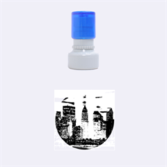 New York 2014 1206 Rubber Round Stamps (Small)
