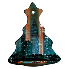 New York 2014 1206 Christmas Tree Ornament (2 Sides)