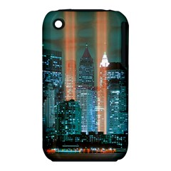 New York 2014 1206 Apple iPhone 3G/3GS Hardshell Case (PC+Silicone)