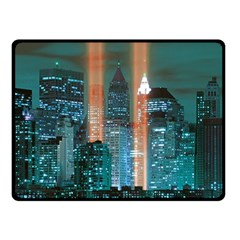 New York 2014 1206 Double Sided Fleece Blanket (small)