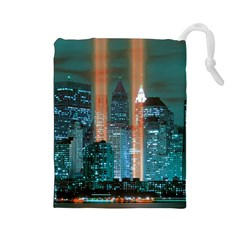 New York 2014 1206 Drawstring Pouches (Large)