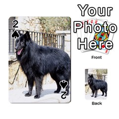 Belgian Shepherd Dog (groenendael) Full Playing Cards 54 Designs