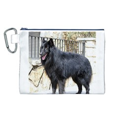 Belgian Shepherd Dog (groenendael) Full Canvas Cosmetic Bag (L)