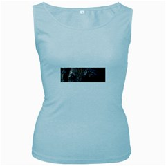 Belgian Tervueren Eyes Women s Baby Blue Tank Tops