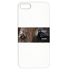 Belgian Tervueren Eyes Apple iPhone 5 Hardshell Case with Stand