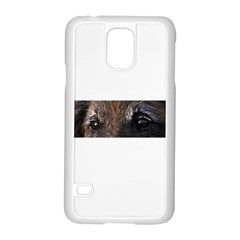 Belgian Tervueren Eyes Samsung Galaxy S5 Case (White)
