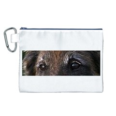 Belgian Tervueren Eyes Canvas Cosmetic Bag (L)
