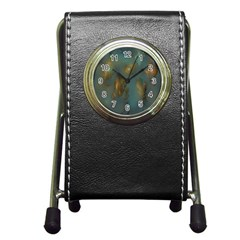 Broken Pieces Pen Holder Desk Clocks
