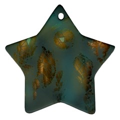 Broken Pieces Star Ornament (Two Sides)