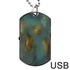 Broken Pieces Dog Tag USB Flash (One Side)