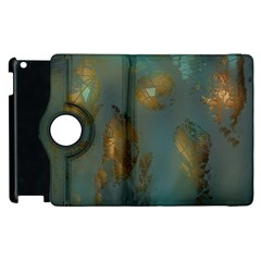 Broken Pieces Apple iPad 3/4 Flip 360 Case