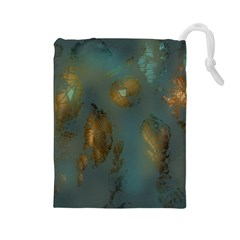 Broken Pieces Drawstring Pouches (large)