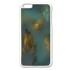 Broken Pieces Apple Iphone 6 Plus/6s Plus Enamel White Case