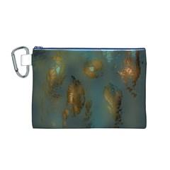 Broken Pieces Canvas Cosmetic Bag (m)