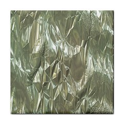 Crumpled Foil Tile Coasters