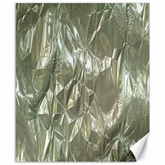 Crumpled Foil Canvas 8  x 10