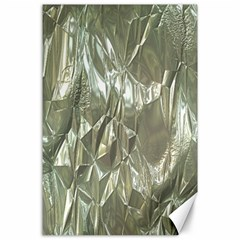 Crumpled Foil Canvas 24  x 36