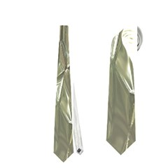 Crumpled Foil Neckties (One Side)