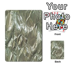 Crumpled Foil Multi Purpose Cards (rectangle)