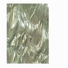 Crumpled Foil Large Garden Flag (Two Sides)