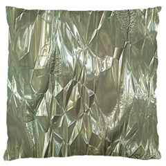 Crumpled Foil Large Cushion Cases (One Side)
