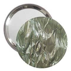 Crumpled Foil 3  Handbag Mirrors