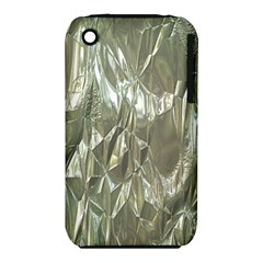 Crumpled Foil Apple iPhone 3G/3GS Hardshell Case (PC+Silicone)