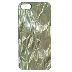 Crumpled Foil Apple iPhone 5 Hardshell Case with Stand