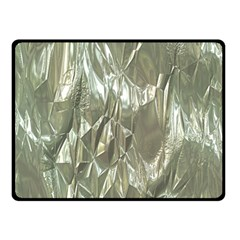 Crumpled Foil Double Sided Fleece Blanket (Small)