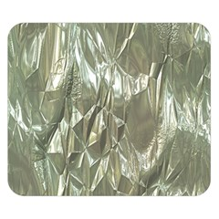 Crumpled Foil Double Sided Flano Blanket (small)
