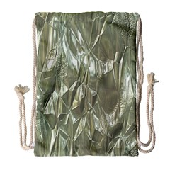 Crumpled Foil Drawstring Bag (Large)