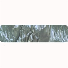 Crumpled Foil Blue Large Bar Mats