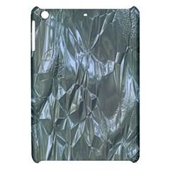 Crumpled Foil Blue Apple iPad Mini Hardshell Case