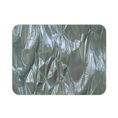 Crumpled Foil Blue Double Sided Flano Blanket (Mini)