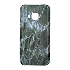 Crumpled Foil Blue HTC One M9 Hardshell Case