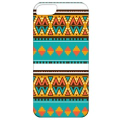 Tribal design in retro colors Apple iPhone 5 Classic Hardshell Case