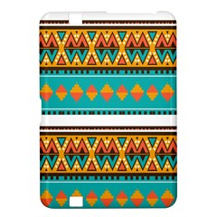 Tribal design in retro colors Kindle Fire HD 8.9  Hardshell Case