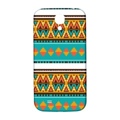 Tribal design in retro colors Samsung Galaxy S4 I9500/I9505  Hardshell Back Case