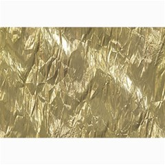 Crumpled Foil Golden Collage 12  x 18