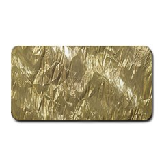 Crumpled Foil Golden Medium Bar Mats