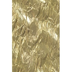 Crumpled Foil Golden 5 5  X 8 5  Notebooks
