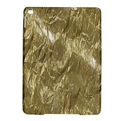 Crumpled Foil Golden iPad Air 2 Hardshell Cases