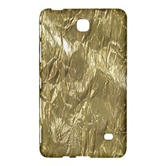 Crumpled Foil Golden Samsung Galaxy Tab 4 (8 ) Hardshell Case