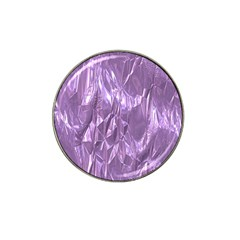Crumpled Foil Lilac Hat Clip Ball Marker (10 pack)