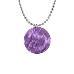 Crumpled Foil Lilac Button Necklaces