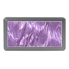 Crumpled Foil Lilac Memory Card Reader (Mini)