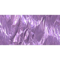 Crumpled Foil Lilac YOU ARE INVITED 3D Greeting Card (8x4)