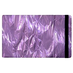 Crumpled Foil Lilac Apple iPad 2 Flip Case