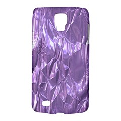 Crumpled Foil Lilac Galaxy S4 Active