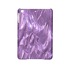 Crumpled Foil Lilac iPad Mini 2 Hardshell Cases